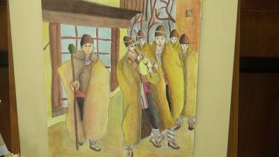 """Ученички от ПГСА""""кольо Фичето"""" с първо и второ място в конкурс по рисуване - Изображение 4"""