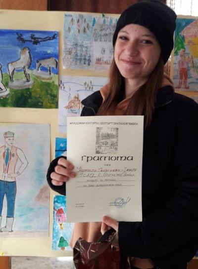 """Ученици от ГСАГД""""Кольо Фичето"""" с първи места и призове от силни конкурси - Изображение 3"""