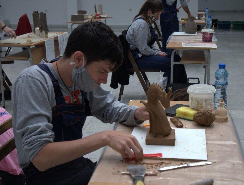 """Второ място в Национално състезание за млади творци от ГСАГД""""Кольо Фичето"""" - голяма снимка"""