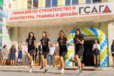 """Със самочувствие и гордост започнаха новата учебна година в ГСАГД""""Кольо Фичето"""" - Изображение 5"""