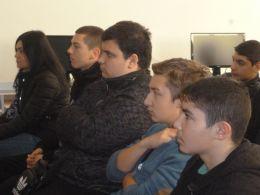 Топ журналистка  гостува в час по предприемачество - ПГСА Кольо Фичето - Ямбол