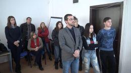 Екипна презентация пред експерт - ПГСА Кольо Фичето - Ямбол